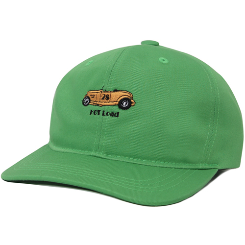 M#0670 modified 6panel cap (green)