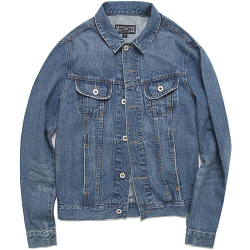 M#0699 eulmont washed denim jacket