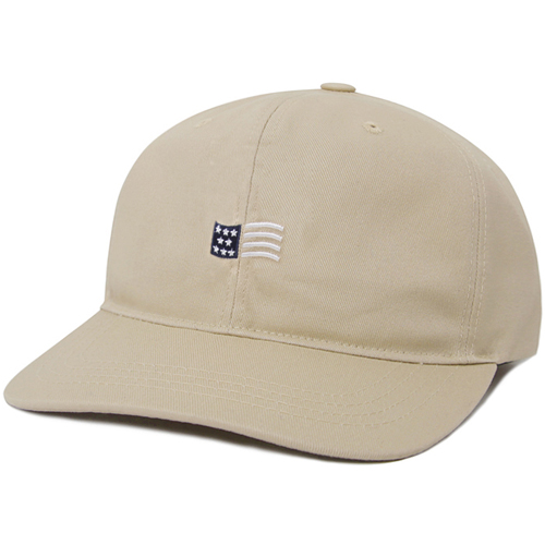 M#0835 modified 6panel cap (beige)