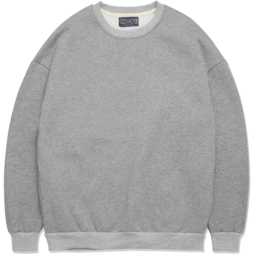 M#0852 hidden pocket sweat shirt (grey)